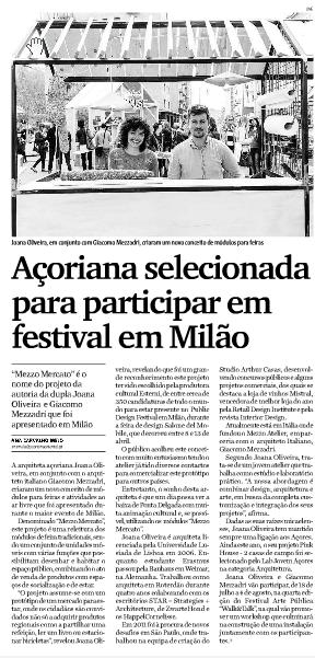 Mezzo Atelier AÇORIANO ORIENTAL