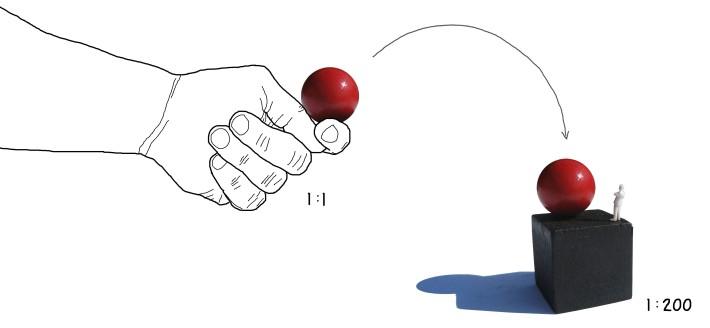 hand and ball